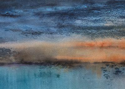 Sunrise 1 (For sale - £224, unframed)