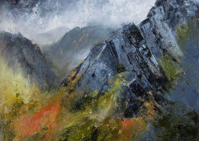 Mountain landscape 1 (SOLD)