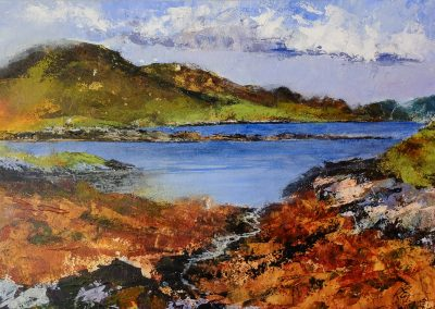 'Meall na Hoa', Grimsay, North Uist (for sale £475, unframed)