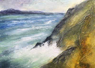 Y Swnt, Enlli - Bardsey Sound (for sale £225, unframed)