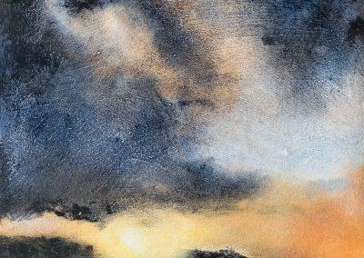 Hebridean Sky 2 (for sale £225, unframed)