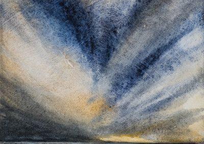 Hebridean Sky 1 (for sale £225, unframed)