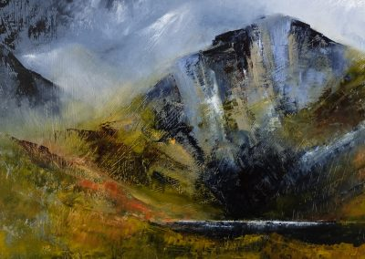 Mountain landscape 3 (SOLD)